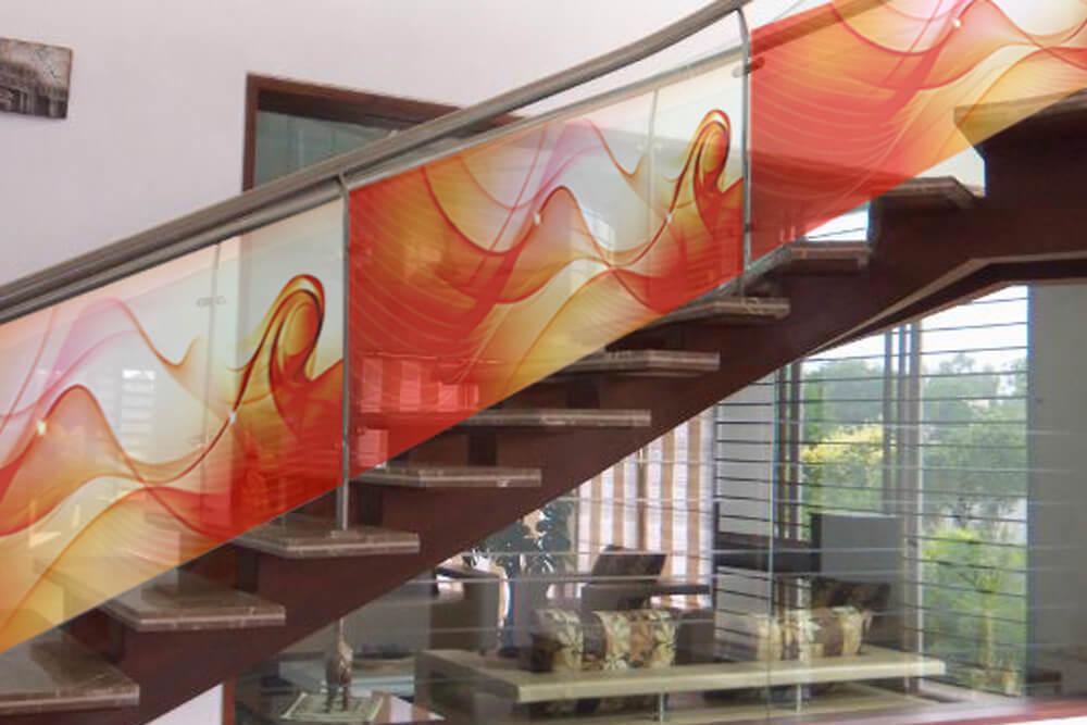 impresión digital en vidrio
