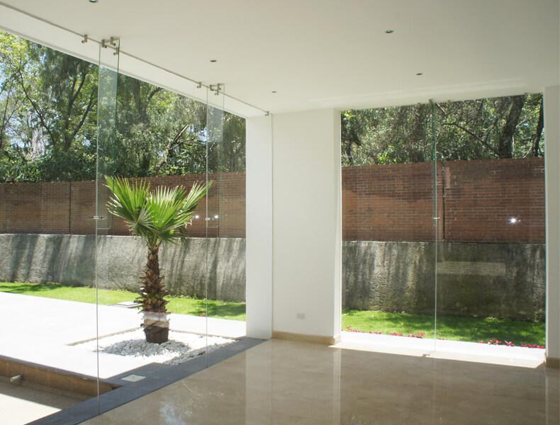 cristal y aluminio para residencias