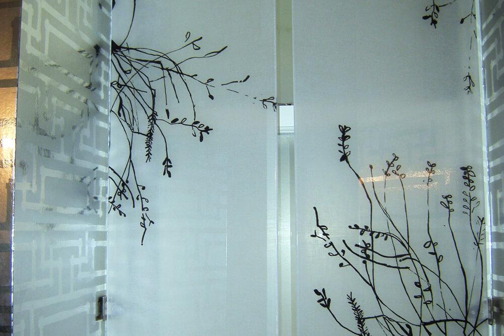 vidrio serigrafiado